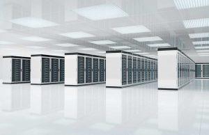white datacenter