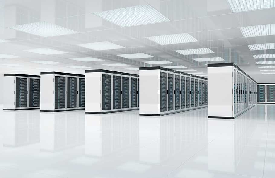 white datacenter